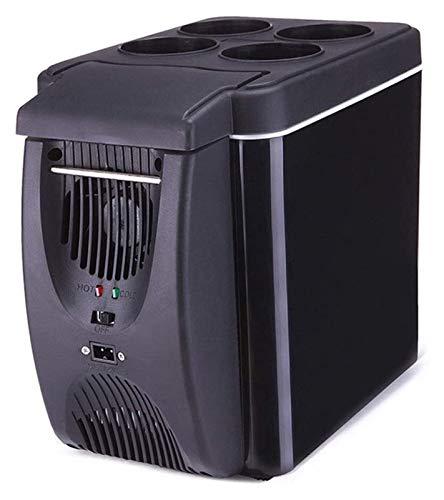 SHUHANG 6L Mini Nevera Bebida Puede ser más Fresca Crema hidratante portátil portátil al Aire Libre Compacto Puede acomodar enlatado (Color : Black, Size : 18.5x25.532.5cm)