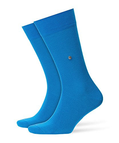 BURLINGTON Herren Socken Lord, 82{ffdf523858fe38ee591b799f86b4b7a976b0472fd6fca07502336c3801d39e47} Baumwolle, 1 Paar, Blau (Turquise 6830), Größe: 40-46