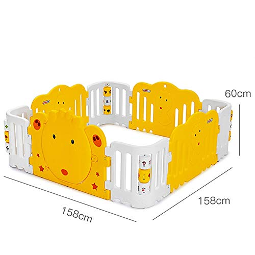 Fantastic Deal! X/L Baby Gate,Game Fence Infant Indoor Playground Toys Children Toddler Safety Fen...