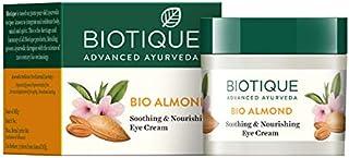 Biotique Bio Almond Soothing And Nourishing Eye Cream, 15g
