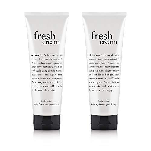 philosophy Fresh Cream Body Lotion, 7 Ounce - 2 Pack