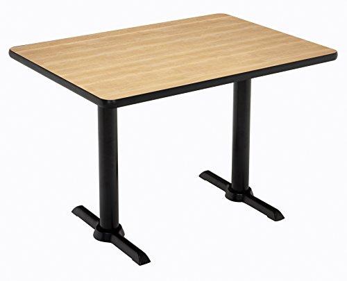 """KFI Seating Mode Multipurpose Table 30"""" x 60"""" Top Natural -  KFI Studios, T3060-B2065-BK-NA-38"""