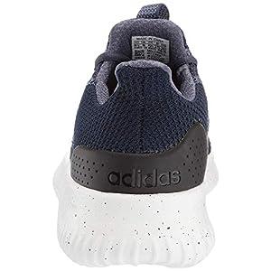 adidas Men's Cloudfoam Ultimate Running Shoe, Trace Blue/tech Ink/Black, 4 M US