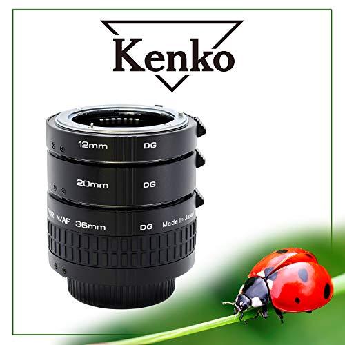 Kenko Extension Tube Set DG Nikon Zwischenringsatz, 36mm schwarz
