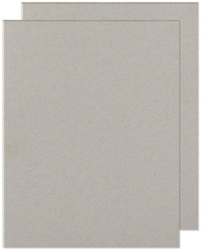 We R Memory Keepers 0633356612445 Cinch-8,5 x 11 - Quadro de livros de papelão (2 peças), cinza