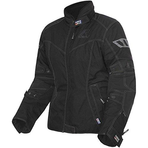 Rukka Charikla Damen Motorradjacke Gtx, Farbe schwarz, Größe 36