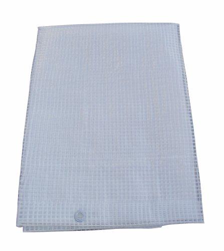 ELEM GARDEN TECHNIC - Lona de polietileno con ojales, dimensiones 800 x 500 centímetros, 170 gramos/m² - ELEM