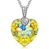Alex Perry Regalo Collar Mujer Plata de Ley 925 con Cristales de Swarovski Joyería para Elle Su Madre Amante Cumpleaños Aniversario