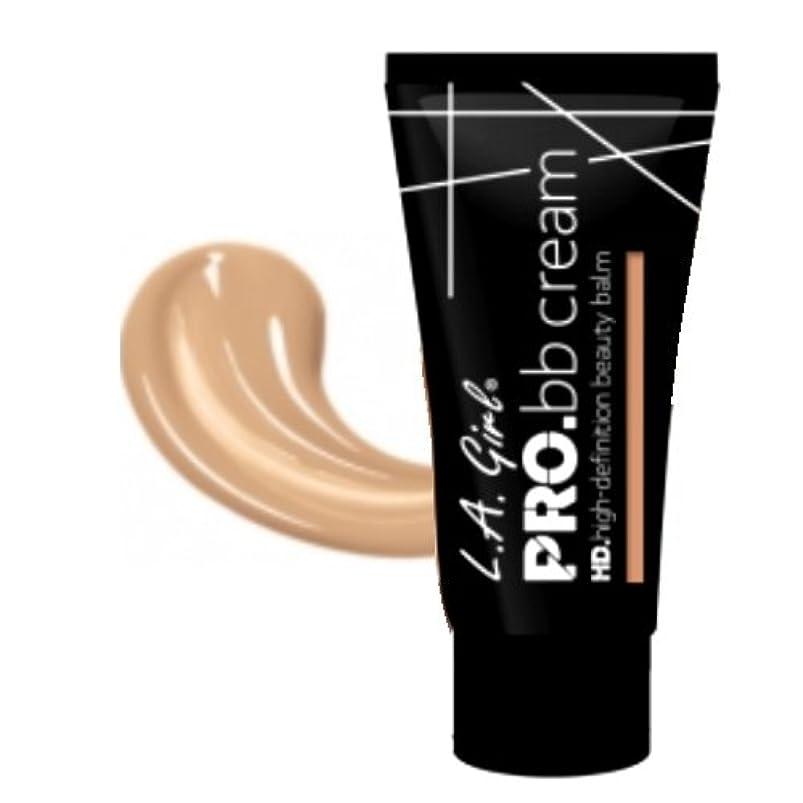 ピストンロイヤリティ仕える(6 Pack) LA GIRL HD Pro BB Cream - Light (並行輸入品)