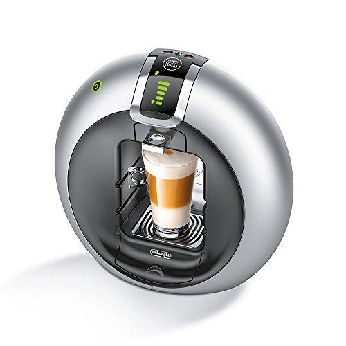 Delonghi Dolce Gusto Circolo - Máquina de café (Flow Stop, Expresso, 15 Bar), color plateado