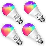 Bombilla LED Inteligente, Wi-Fi Bombilla, Luces Cálidas/Fr�