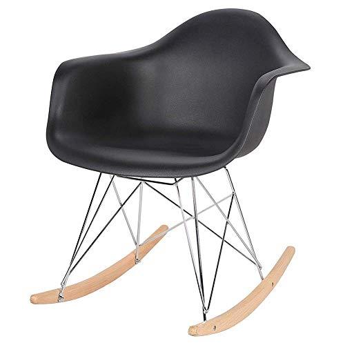 HSY SHOP-barkruk schommelstoel relaxstoel schommelstoel schommelstoel stoel stoel kunststof staal hout