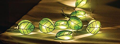 HQ Guirlande feuilles 10 LED hqledslleaf