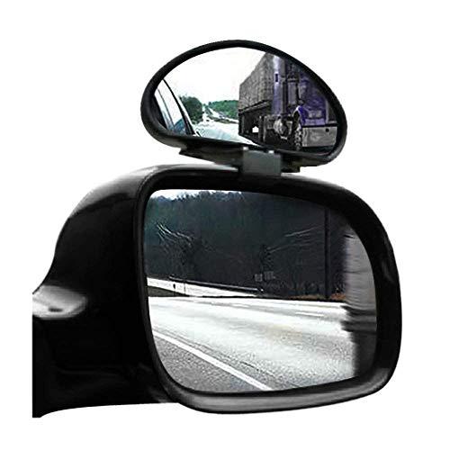 Liseng 2 espejos retrovisores de ángulo muerto de gran angular ajustables para furgonetas pequeñas.