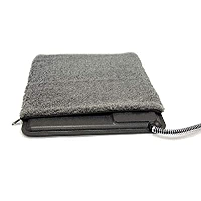 """K&H PET PRODUCTS Extreme Weather Kitty Pad Deluxe Cover Gray 12.5"""" x 18.5"""" x 0.25"""""""