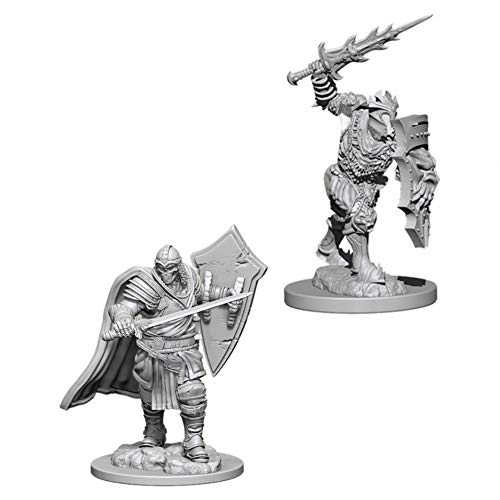 Dungeons & Dragons Nolzur's Marvelous Unpainted Minis: Death Knight & Helmed Horror