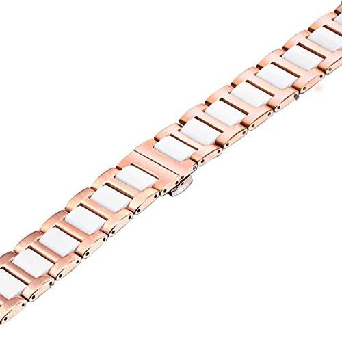 Pulsera para Apple Watch Bandas Cerámica Pulseira de acero inoxidable para Applewatch Band 5 4 Iwatch Strap 3 Belt