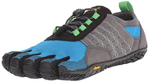 Vibram FiveFingers Trek Ascent, Damen Outdoor Fitnessschuhe, Mehrfarbig (Grey/Blue/Green), 38 EU