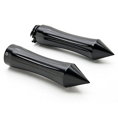 Krator Motorcycle Hand Grips 1 Inch Handlebar Bars Pair Compatible with Yamaha V-Star Vstar 950 1100 1300 Classic Stryker
