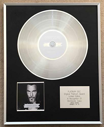 Century Music Awards - FLORENT PAGNY – Disque platine CD édition limitée – VIELLIR AVEC TO I