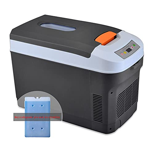 Mini Nevera Congelador, Refrigerador para AutomóVil 25L para el Refrigerador de Doble Uso para el Hogar Refrigerador para Acampar al Aire Libre (Comprar Refrigerador Liberarse Cristales de Hielo Caja)