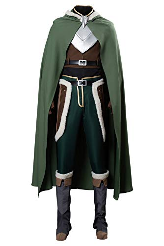 Huiyemy Naofumi Iwatani The Rising of The Shield Hero Naofumi Iwatani Cosplay Traje Caballeros S