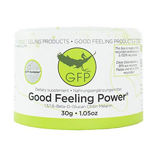 Good Feeling Power® | 30g | Der GFP-Komplex® aus dem Zunderschwamm | Das Original Zunderschwamm Pulver