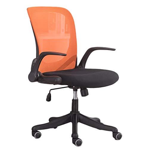 npcs Silla de videojuegos, silla de oficina, para el hogar y la oficina, silla de ordenador ergonómica, elegante respaldo giratorio y elegante sillas de escritorio para ordenador (color: F)