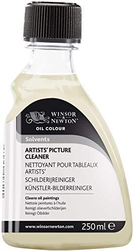 Winsor & Newton Aditivo para óleo limpiador de cuadros, 250ML