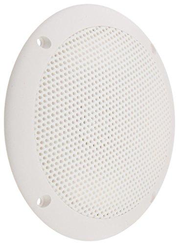 "PQN Enterprises ECO60-4W Waterproof Ultra-Slim RV Marine Speaker, White, 6"""