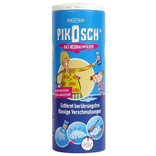 PIKOSCH Kotz Pulver - Flüssigkeitsabsorber - Der Spezialreiniger bindet und entfernt Erbrochenes, Urin, Kot, Blut und Wasser