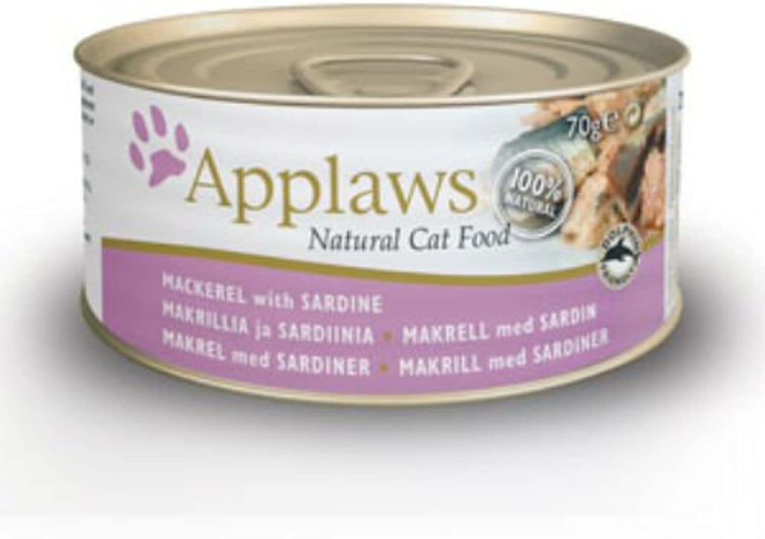 Applaws Cat Pacific Mackerel and Sardine (Case of 24) 70G