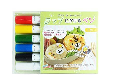 エポックケミカル ラップにかけるペン 6色セット