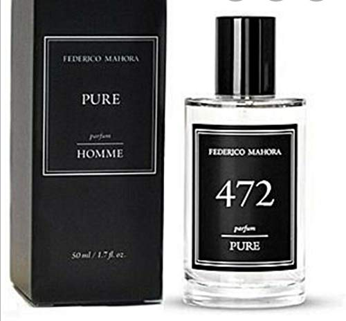 Agua de perfume Pure 472 en aerosol para hombre. Misma fórmula que Creed! Fabricado en la misma fábrica por Drom Fragrances. Agua de perfume de 50ml.