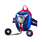JiePai Toddler Kids Backpack with Safety Harness Leash,Waterproof 3D Cartoon Boys/Girls Backpack Lightweight