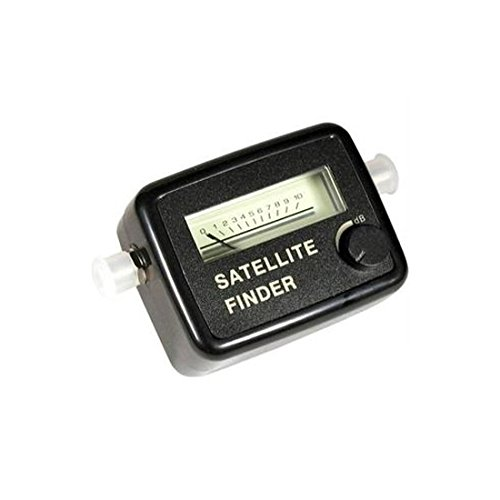Satellite Signal Strength Meter Finder Squawker Finder Locator Tester, Dish Network, 2 GHz, 13-18 VDC, 75 Ohm