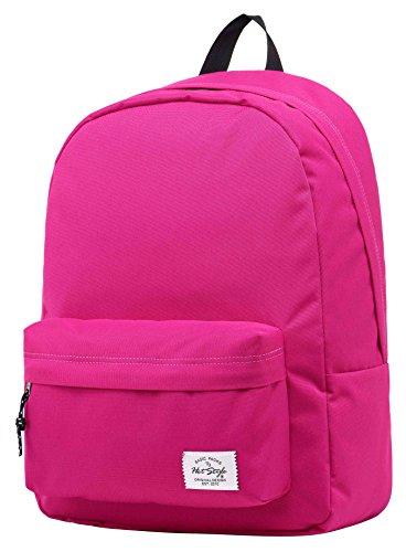 Hotstyle SIMPLAY Mochila Escolar Clásico, 44x30x12,5cm, Púrpura