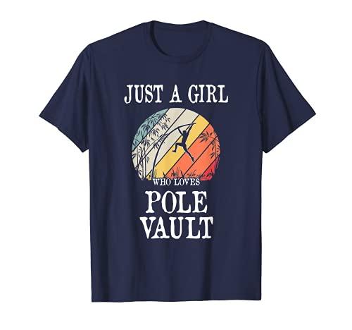 Sólo una chica que ama Pole Bóveda Camiseta