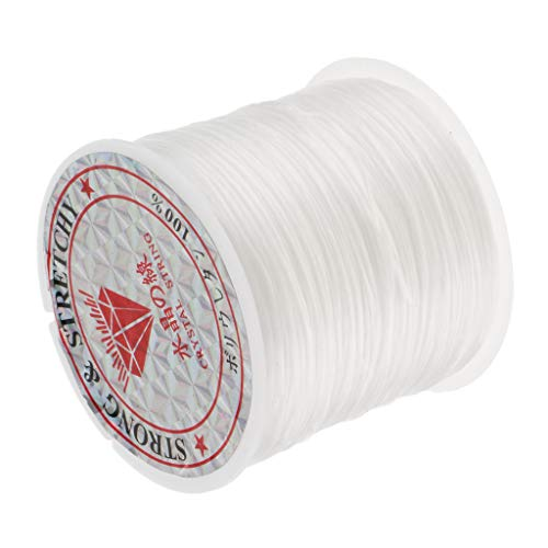 Professional Super Elastic Hair Extension Stretchy Thread for Braiding and Weaving 60M