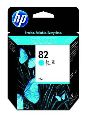 HP 82 Cyan Original Tintenpatrone, 28 ml
