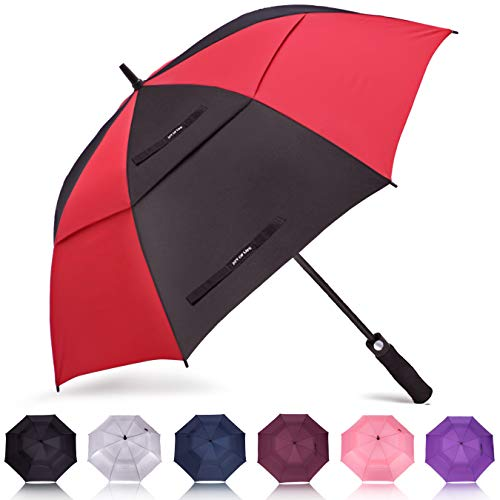 Folding umbrella automatic opening  Mens one touch glass fiber water repellent