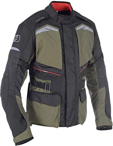 TM1711042XL - Oxford Quebec 1.0 Motorcycle Jacket XXL Army Green (46)