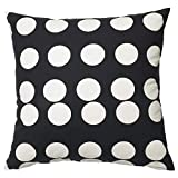 IKEA Klarastina Cushion Cover Black White 20x20 704.438.29
