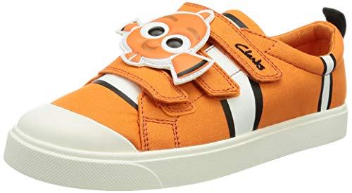 scarpe tela Clarks City Nemo K