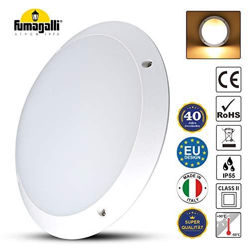 Deckenlampe LED Deckenleuchte Wasserdicht Lampe Bad IP66 Schlaf Wohn-Zimmer Beleuchtung Küche Schlafzimmer Ø30cm (Nicht inkl. Leuchtmittel)