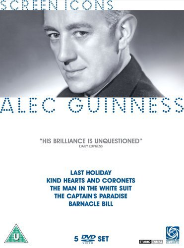 Alec Guinness Collection (Last Holiday / Kind Hearts and Coronets / the Man in the White Suit / the Captain's Paradise / Barnacle Bill) [Region 2] by Alec Guinness