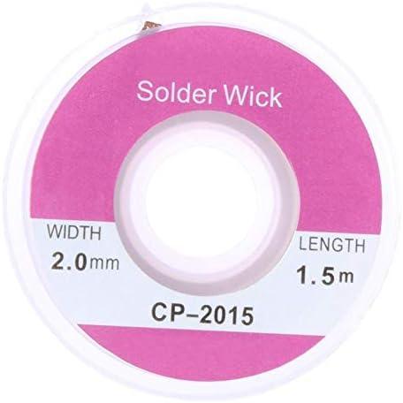 Tool Parts 1.5m Solder Wick Max 49% OFF Wire Braid Brand Cheap Sale Venue Sucke Remover Desoldering