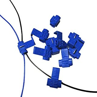 New Computer Accessories 100 PCS Cable Clip, Adapt to Line Diameter: 0.8-2.0mm(Blue) Used for Computer