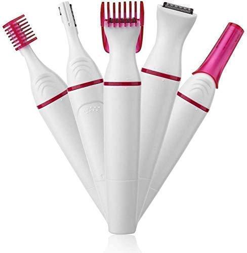 Arzet Women's Sweet Trimmer Sensitive Touch Expert Painless Trimmer Precision Beauty Styler face, Underarms, Legs Hair Remover, BIKINI TRIMMER, Epilator, Grooming Kit.
