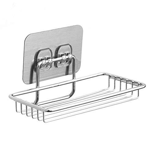 Fournitures de bain Douche de Bain Caddy / Porte-savon / Double Crochet pour La Cuisine Avec Organisateur de Bain, Savon pour Shampooing Revitalisant - Acier Inoxydable pour panneaux jacuzzi de salle